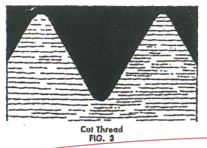 how to cut threads on a lathe tutorial