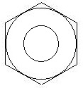 Hex Nut template