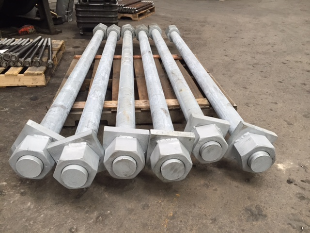 4 inch HDG Bolts 3.7 (2)